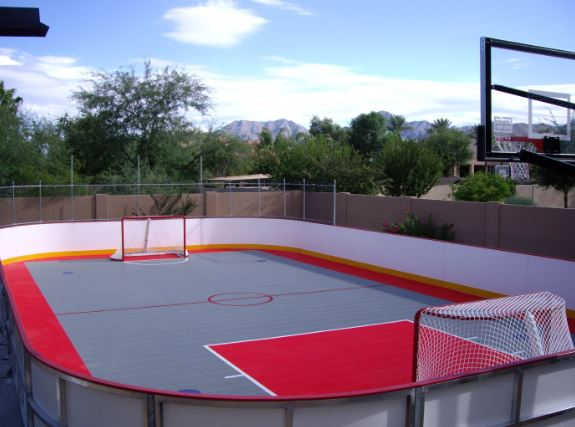 Backyard Hockey Rink