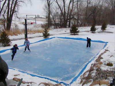 How To Make Backyard Ice Rink backyard ice rink | sport court north