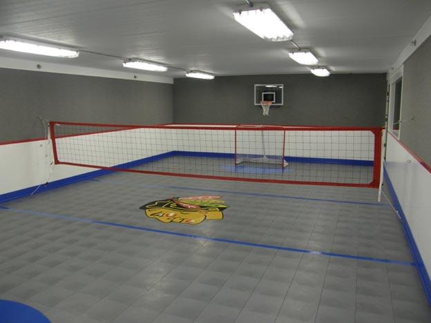 Planning An Indoor Home Court Sport Court North